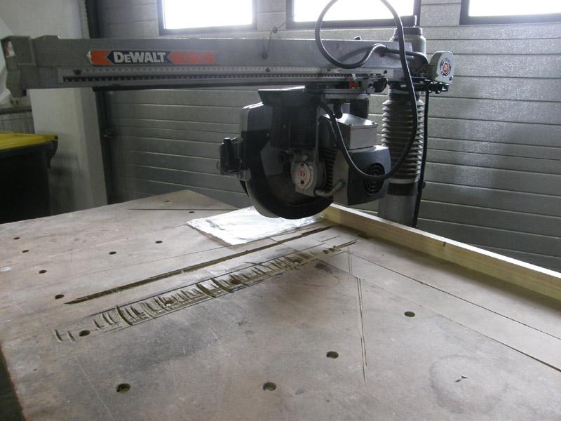 Gebrauchte radialsäge dewalt dw8103