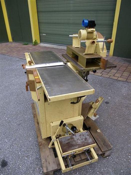 gebrauchte maschinen hobelmaschine mit fr se scheppach hmc320. Black Bedroom Furniture Sets. Home Design Ideas